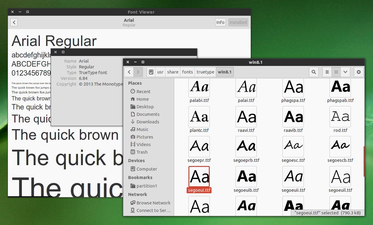 Windows Install Font - Gadget Gyani
