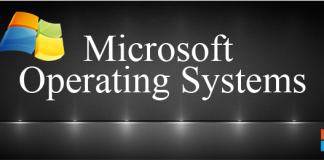 microsoft windows operating system list, microsoft operating system,