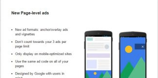 page level ads, page level ads by adsense, adsense, page level ads by google adsense,