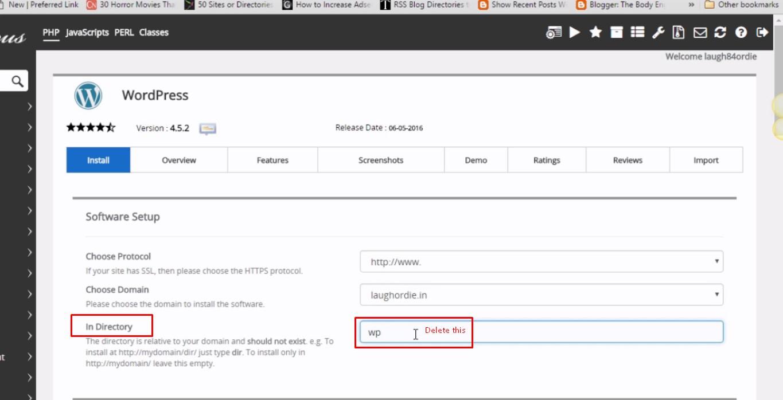 how to setup wordpress, how to install wordpress, wordpress install, index of/ cgi-bin fix,