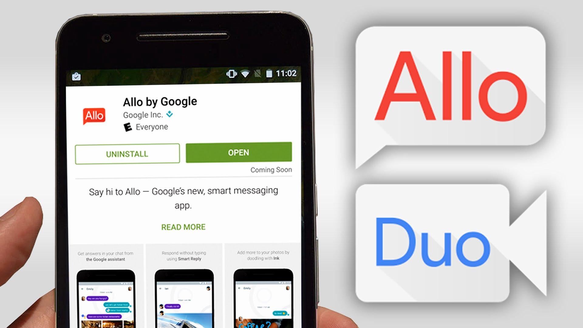 google allo, google allo chat