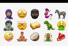 yoga emoji in apple