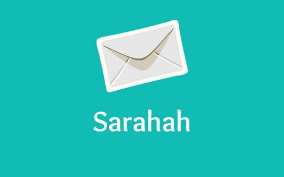 srahahapp, sarahah app