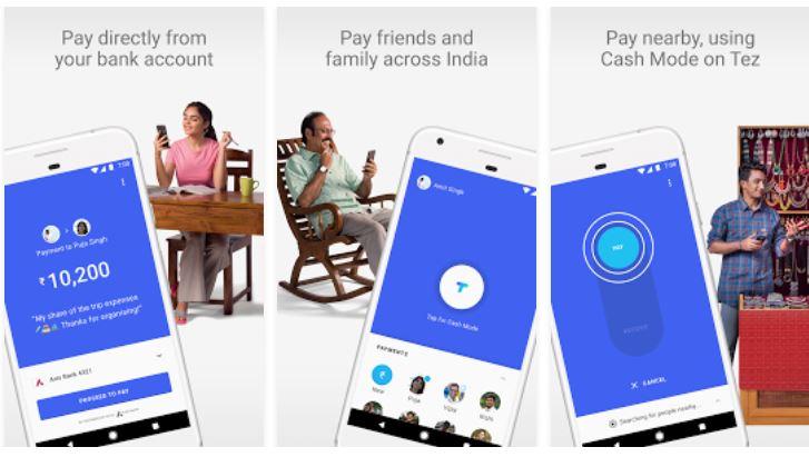 tez app download, tez google app, tez google payment app,
