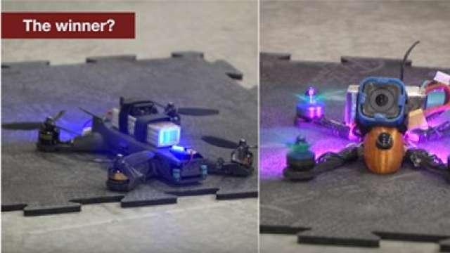 Human Pilot Beats AI