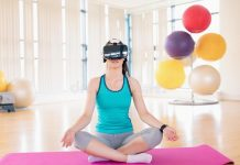 virtual reality yoga