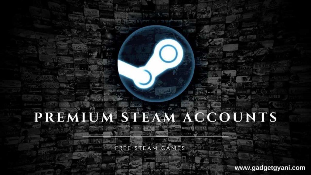free premium steam accounts