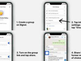 whatsapp group to signal